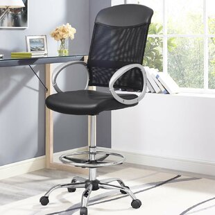 Guzzi Ergonomic Mesh Drafting Chair by Orren Ellis