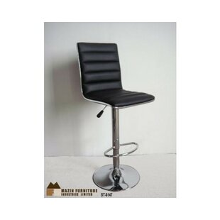 Sippel Adjustable Height Swivel Bar Stool by Orren Ellis Today Sale Only