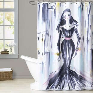 Zarah City Chic Single Shower Curtain