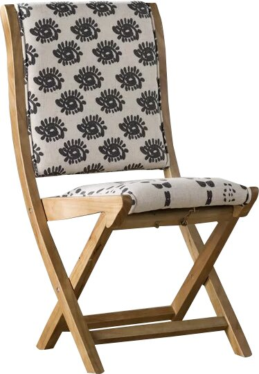 Gammons Side Chair - Shop Drew's Honeymoon House {Jonathan's Guest Suite} #bohochic #foldingchair #PropertyBrothers