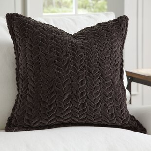 Bradninch Velvet Quilted Pillow Cover
