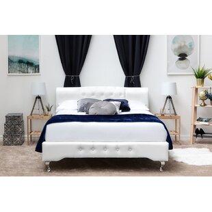 Dehart Designer Upholstered Bed Frame By Fairmont Park