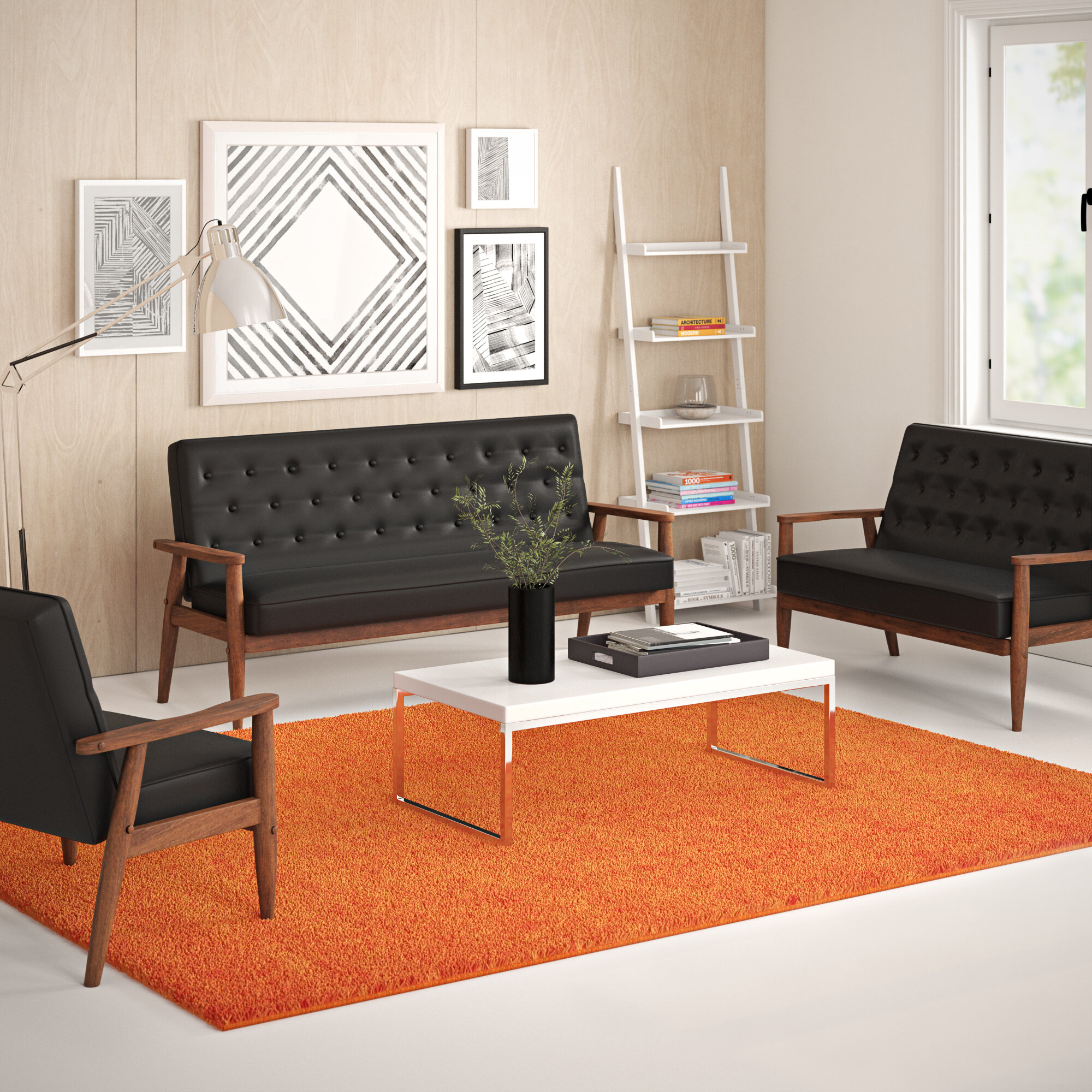 Stupendous Zoee 3 Piece Living Room Set Gamerscity Chair Design For Home Gamerscityorg