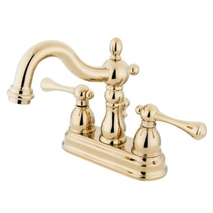 Heritage Centerset Bathroom Faucet with Drain Assembly By Elements of Design
