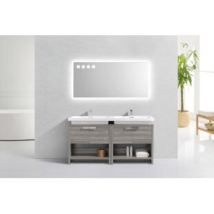 Politte 63 Single Bathroom Vanity with Cubby Hole by Orren Ellis