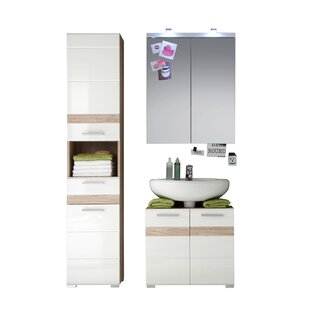 One Mitcheldean 3 Piece Bathroom Storage Furniture Set By Brayden Studio