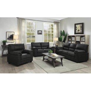 Winston Porter Mulkey 3 Piece Living Room..