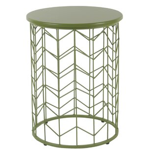 Corben Geometric End Table by Ebern Designs