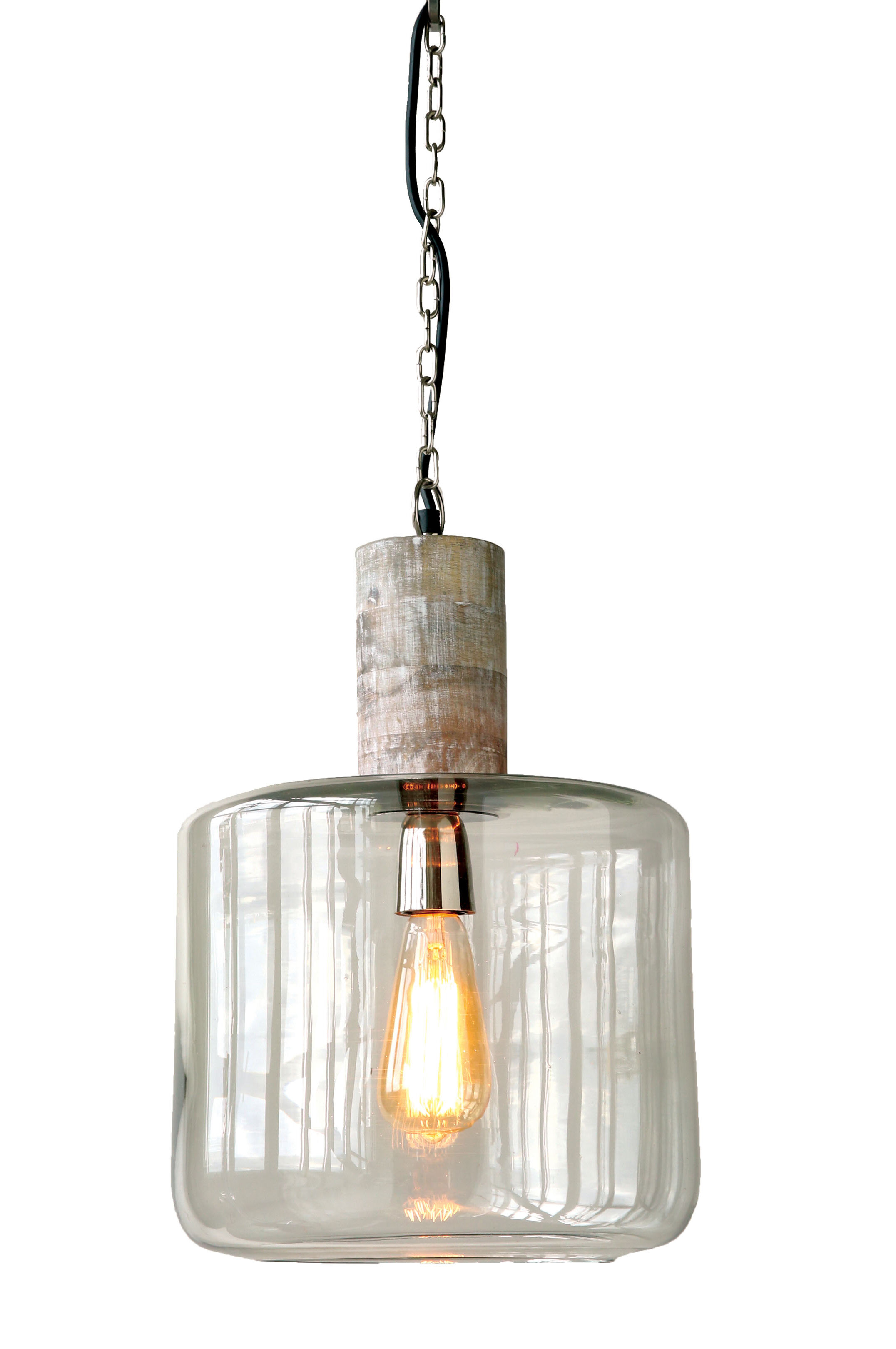 Union rustic loughlin 1 light drum pendant reviews wayfair