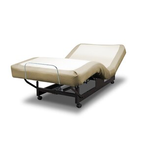 Economy Series Headboard Hugger Adjustable Bed by Med-Lift