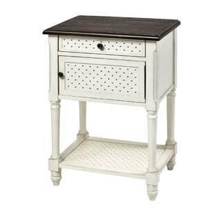 Hall End Table by Charlton Home