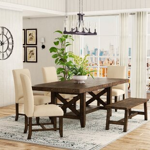 Melstone 6 Piece Extendable Dining Set Three Posts