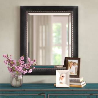 Wrought Studio Paola Rectangular Cottage Accent Mirror Reviews Wayfair