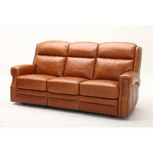 Maxwell Leather Reclining Sofa by Southern Motion