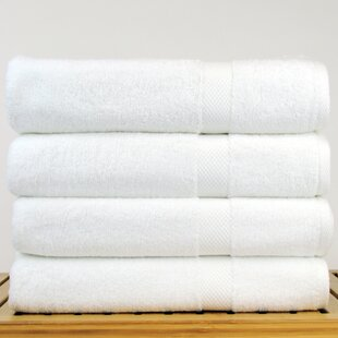 Petal 100% Cotton Bath Towel (Set of 4)