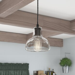 Reviews Bouvet 1-Light Dome Pendant By Laurel Foundry Modern Farmhouse