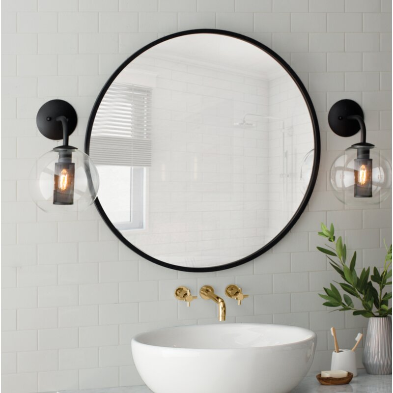 Elements of Design South Beach Double Cross Handle Wall Mount Vessel ...