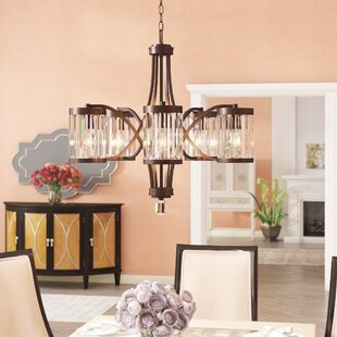 Willa Arlo Interiors Westlake 5-Light Shaded Chandelier
