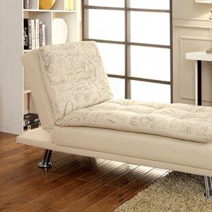 Latitude Run Ristaino Contemporary Chaise Lounge
