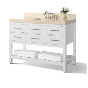 Jauss 48 Single Bathroom Vanity Set ByMercer41