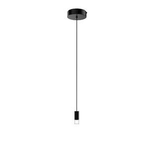 Seraph 1-Light Cylinder Pendant by Blackjack Lighting
