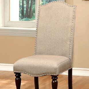 Meagan Upholstered Dining Chair (Set of 2) Rosdorf Park