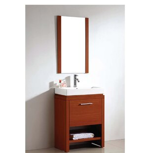 American 24 Single Vanity Set with Mirror by Dawn USA