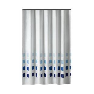 Drews Squares Single Shower Curtain