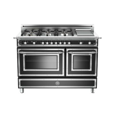 Heritage Series 48 Free-Standing Gas Range with Griddle Bertazzoni