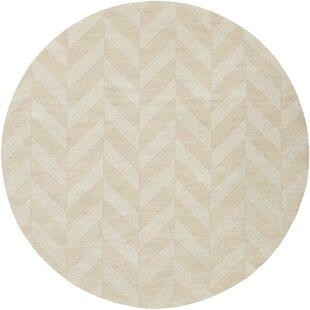 Sunburst Handwoven Wool Ivory Area Rug by Greyleigh