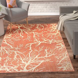 Almaden Terracotta Indoor/Outdoor Area Rug