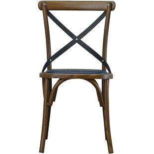 DHC Furniture Unique X Back Dining Chair
