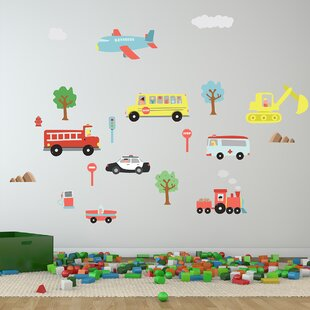 Happy Cars Wall Decal