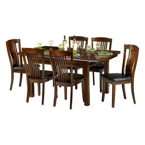 Remsen Extendable Dining Set With 6 Chairs Part 47