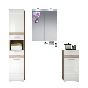 One Modbury 3 Piece Bathroom Storage Furniture Set By Brayden Studio