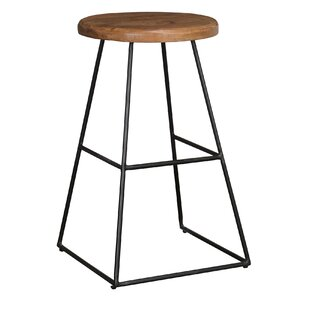 Buy clear Anastasia 24 Bar Stool (Set of 2) by Union Rustic Reviews (2019) & Buyer's Guide