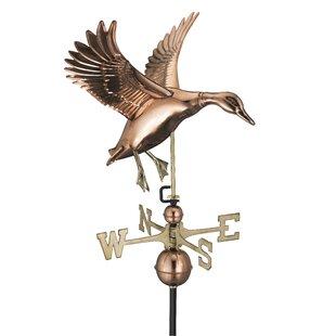 Sale Price Broomsedge Landing Duck Weathervane