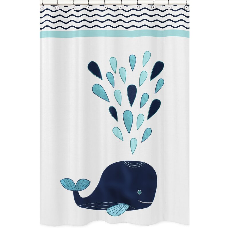 Sweet Jojo Designs Whale Shower Curtain Reviews