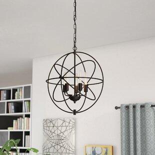 Hamby 5-Light Globe Chandelier