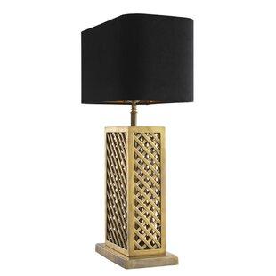 Idyllwild Rattan 28 Table Lamp