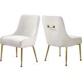 Stovall Velvet Side Chair (Set of 2)