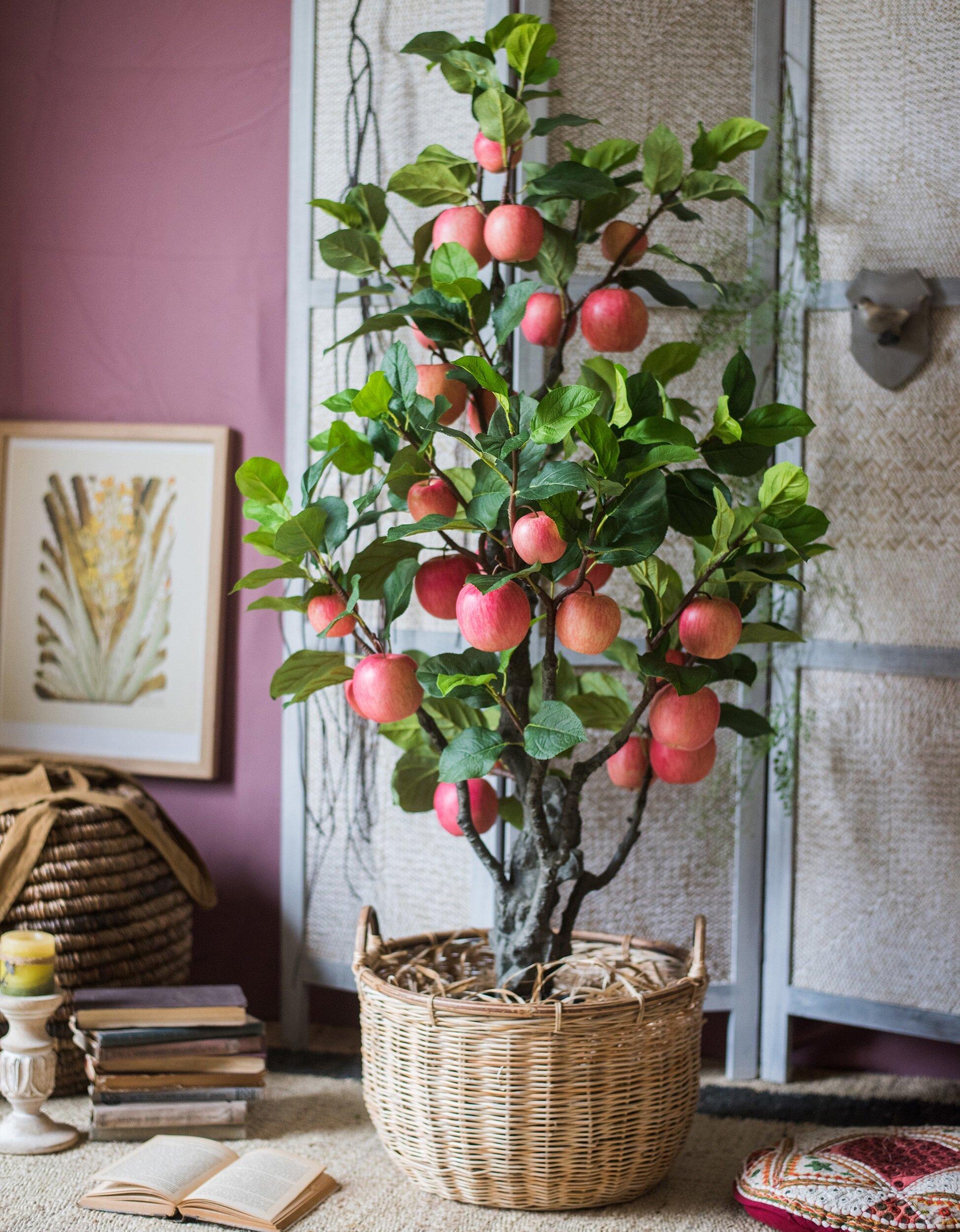 Rustic Reach Artificial Apple Tree Wayfair