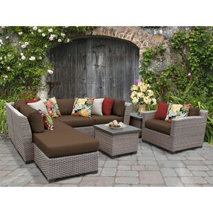 Farmhouse & Rustic Sectional Outdoor Sofa Sets | Birch Lane