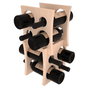Sutton Pine Contemporary Cube 8 Bottle Ta..
