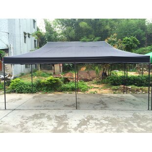 10 Ft. W x 20 Ft. D Steel Pop-Up Party Tent by American Phoenix