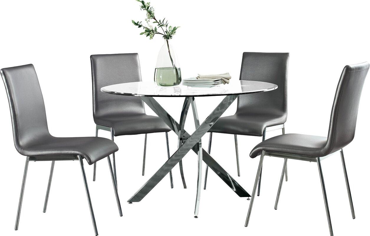 Oradell 5 Piece Dining Set & Reviews | AllModern