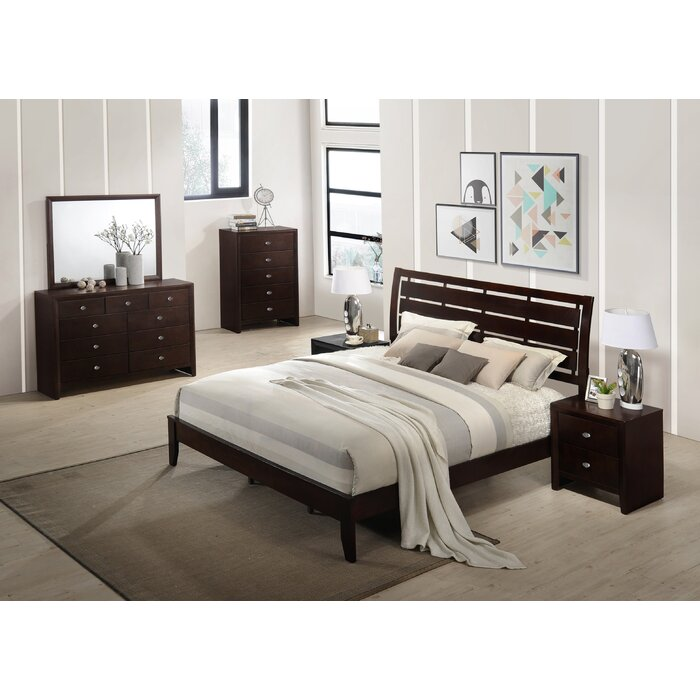 Willenhall Platform 6 Piece Bedroom Set
