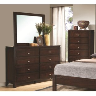 Wrought Studio Emme 8 Drawer Dresser with Mi..