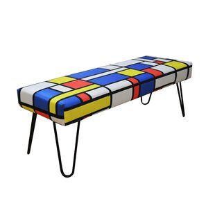 Upholstered Bench By Happy Barok