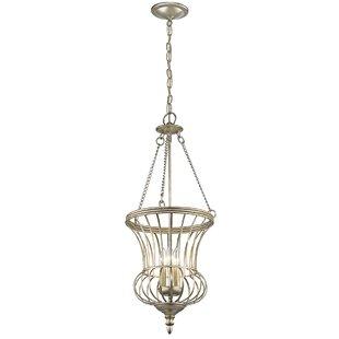 Darby Home Co Badgley 3-Light Urn Pendant